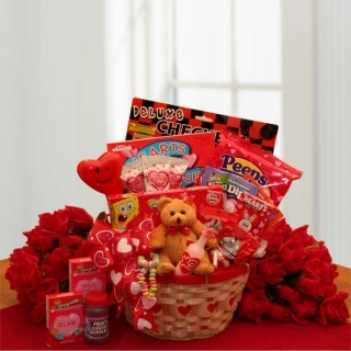 My Little Valentine Children\'s Gift Basket