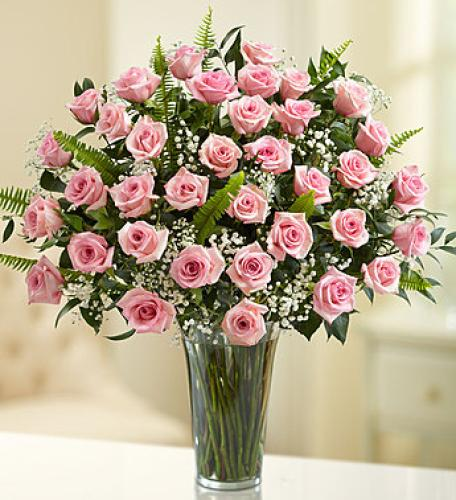 Ultimate Elegance Premium Long Stem Pink Roses