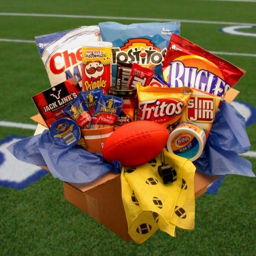 Touchdown Game Time Snacks Care Package