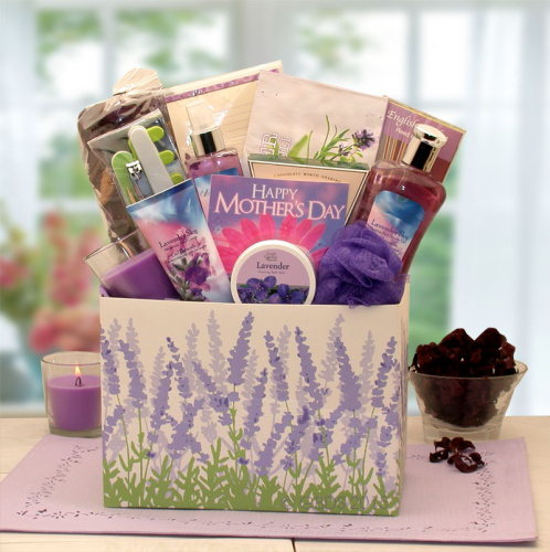 Mother\'s Day Moments Of Relaxation Lavender Spa Gift Box