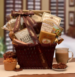 Sending Our Prayers Sympathy Gift Basket