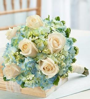 Blue and White Petite Bouquet