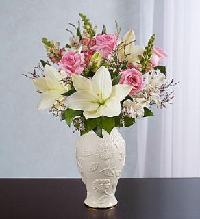 Loving Blooms? Lenox? Pink & White