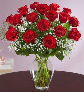 Red Roses in Vase! [Top Seller]