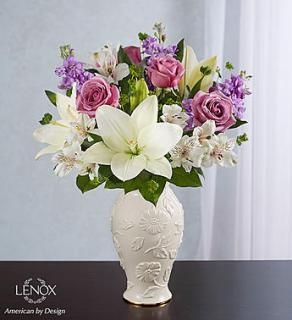 Loving Blooms? Lenox? Lavender & White