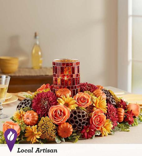 Pumpkin Harvest Centerpiece