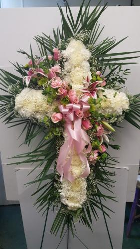 Cross Made By Commack Florist