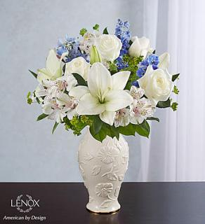 Loving Bloom  Lenox  Blue & White