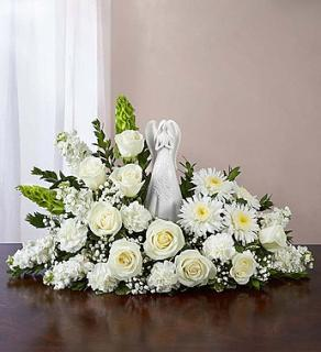 Serenity Angel Arrangement All White