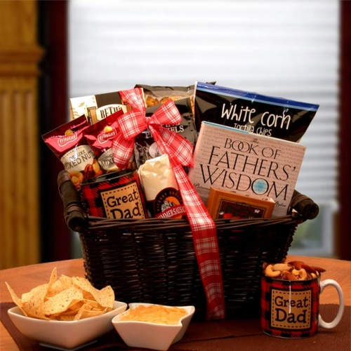 He\'s A Great Dad Gift Basket