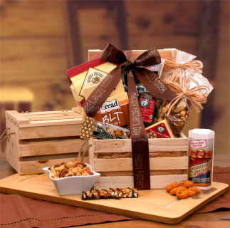 Dad\'s Favorites Premium Nuts & Snacks Crate