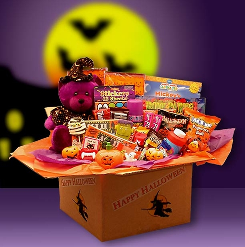 Happy Halloween Activities Deluxe Care package